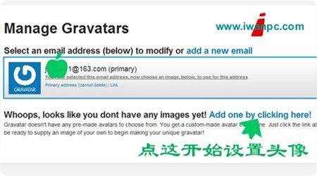 """异星软件空间教你如何设置Wordpress 的""""评论""""头像!-评论, 头像, Wordpress, Gravatar"""