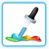 我的取色器(MyColor)—精确屏幕取色器 提供六个取色按钮 支持区域取色-精确屏幕取色器, 我的取色器MyColor, 六个取色按钮区域取色