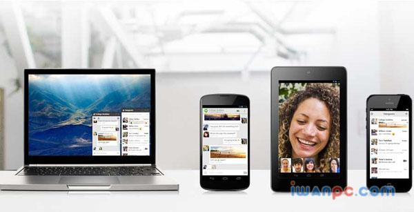 环聊(Hangouts) 多平台版下载—Google推出的免费聊天软件-通讯, 聊天, 环聊, 免费, Hangouts, google