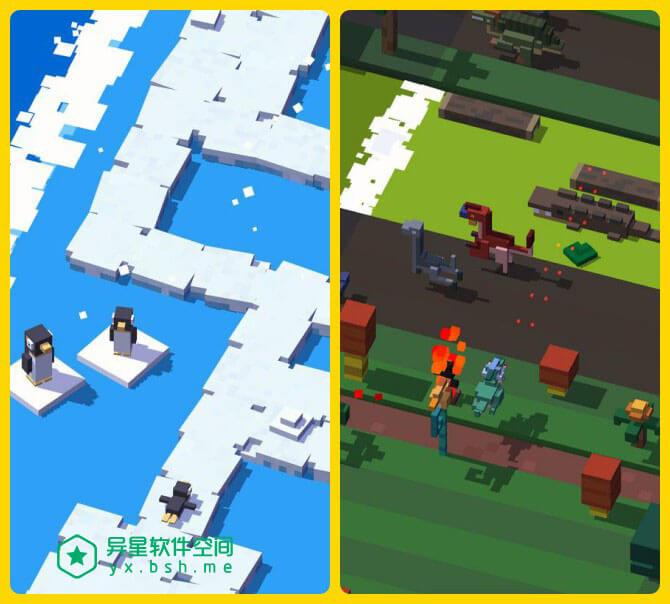 天天过马路「Crossy Road」for Android v3.5.3 完美破解版 —— 呆萌有趣 / 休闲益智的萌宠小怪兽过马路游戏-马路, 闯关, 过马路, 街道, 虐心, 萌宠, 神龙, 益智, 游戏, 小怪兽, 呆萌, 像素, 休闲