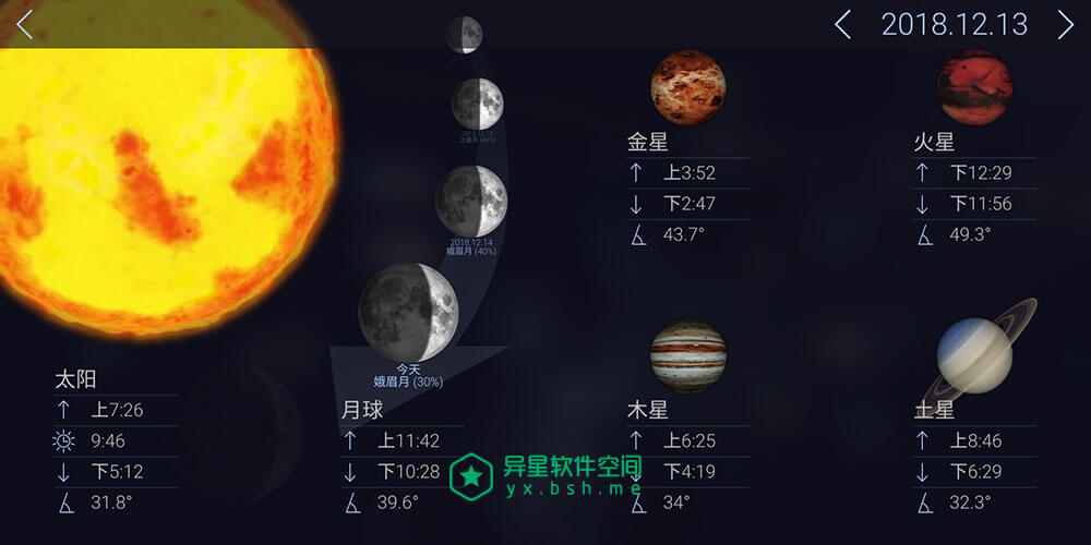 Star Walk 2「星空漫步2」v2.8.7.76 for Android 直装完美破解专业版 —— 火爆观星必备神器 / 星空和天文学应用!-科普, 科幻, 生活, 流星雨, 星球, 星座, 星云, 学习, 天文, 卫星