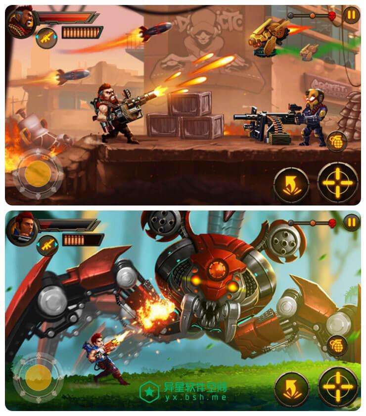 金属小分队 v1.7.4 for Android 直装破解无限金钱版 —— 角色扮演类的经典射击游戏-闯关, 角色扮演, 游戏, 扮演, 射击, 单机, BOSS