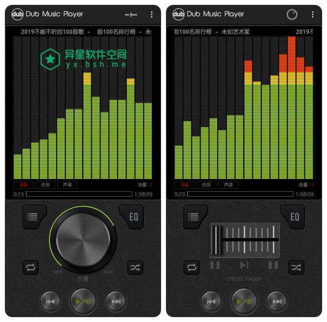 Dub音乐播放 v4.0 for Android 去广告清爽版 —— 一款非常拟物化的本地音乐播放器应用-音乐播放, 音乐, 本地, 播放器, 拟物化, 均衡器, Dub