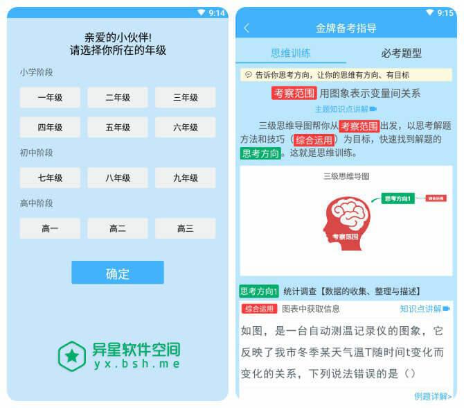 导学号 v6.5.2 for Android 直装完美破解版 —— 一款专为高中 / 初中 / 小学打造的专业辅导应用-高中, 辅导, 解题, 视频, 知识点, 微课, 小学, 导学号, 初中, 作业, 书籍