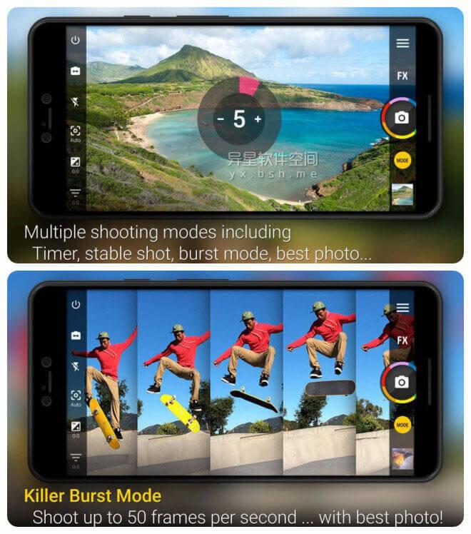 Camera ZOOM FX Pro v6.3.7 for Android 直装付费高级版 —— Android 上最快的相机 / HDR 处理能力相当彪悍-稳定镜头, 相机, 照片合成, 照片, 滤镜, 最快相机, 最快的相机, 拼贴画, 动作镜头, HDR, Camera ZOOM FX Pro, Camera ZOOM FX