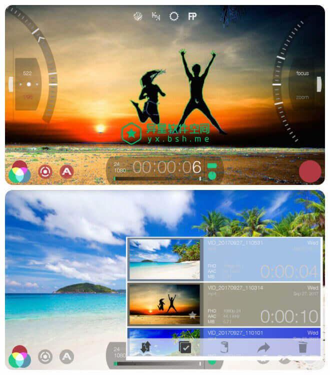 FiLMiC Pro v6.0.2 for Android 直装破解高级版 —— 专为手机设计的强悍的专业视频录像相机-视频制作, 视频, 曝光, 拍摄, 录像相机, 录像, 制作, 伽马曲线, 专业视频录像相机, 专业, FiLMiC Pro, FiLMiC