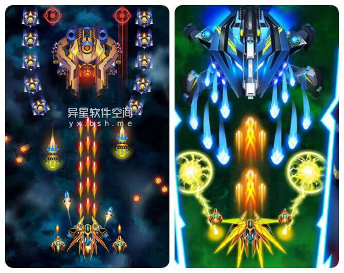 无限射击:银河战争「Infinity Shooting:Galaxy War」v1.8.15 for Android 直装破解专业版 —— 太空射击游戏、弹幕游戏迷喜爱的飞机/飞船射击类游戏-飞船, 飞机, 银河战争, 游戏, 无限射击, 弹幕, 射击, 太空射击游戏, 太空射击, 太空卫士, 太空