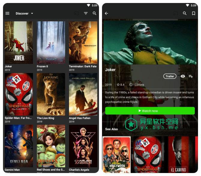 BeeTV v2.4.0 for Android 去广告清爽版 —— 特别适合外语能力强的小伙伴,国外电影电视聚合应用-视频, 电视节目, 电视, 电影, 字幕