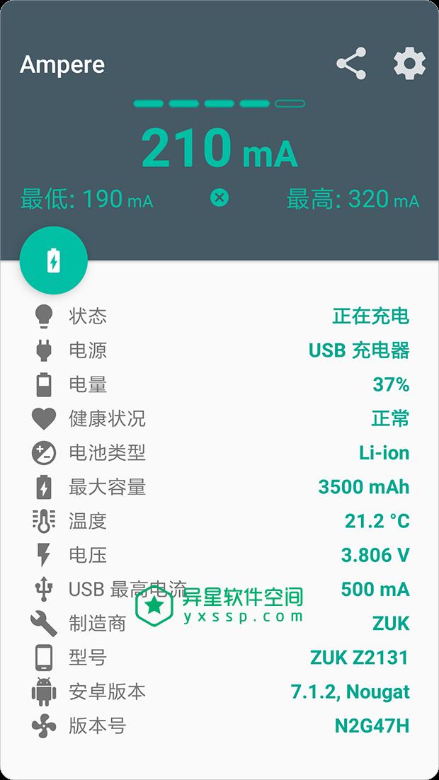 Ampere Pro v3.34 for Android 直装解锁专业版 +暗黑版 —— 专业的 Android 设备充电 / 放电评测应用-评测, 电池, 检测, 放电, 充电, Ampere