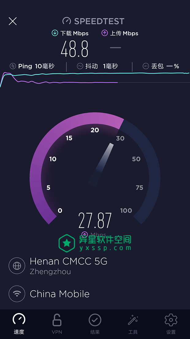 Ookla Speedtest v4.5.36 for Android 直装解锁高级版 + windows/MacOS/iOS等多平台官方版 —— 无处不在的强悍网络速度测试工具!-网络, 测速, 快带, 上传, WiFi, Speedtest, ping, Ookla, 4G
