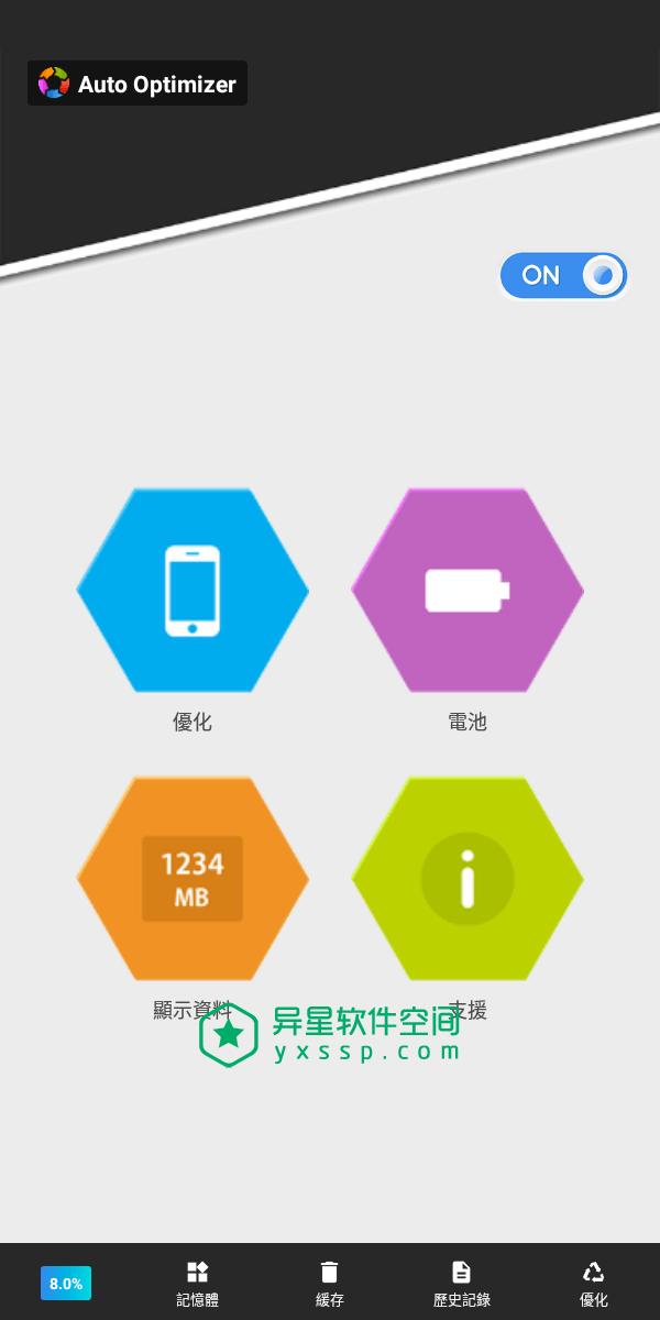 Auto Optimizer v7.7.0 for Android 解锁付费版「+简体中文版」 —— 一键自动优化您的安卓设备以保持其功能-省电, 电池信息, 清除缓存, 清除, 清理, 历史记录, 内存信息, 内存, Auto Optimizer