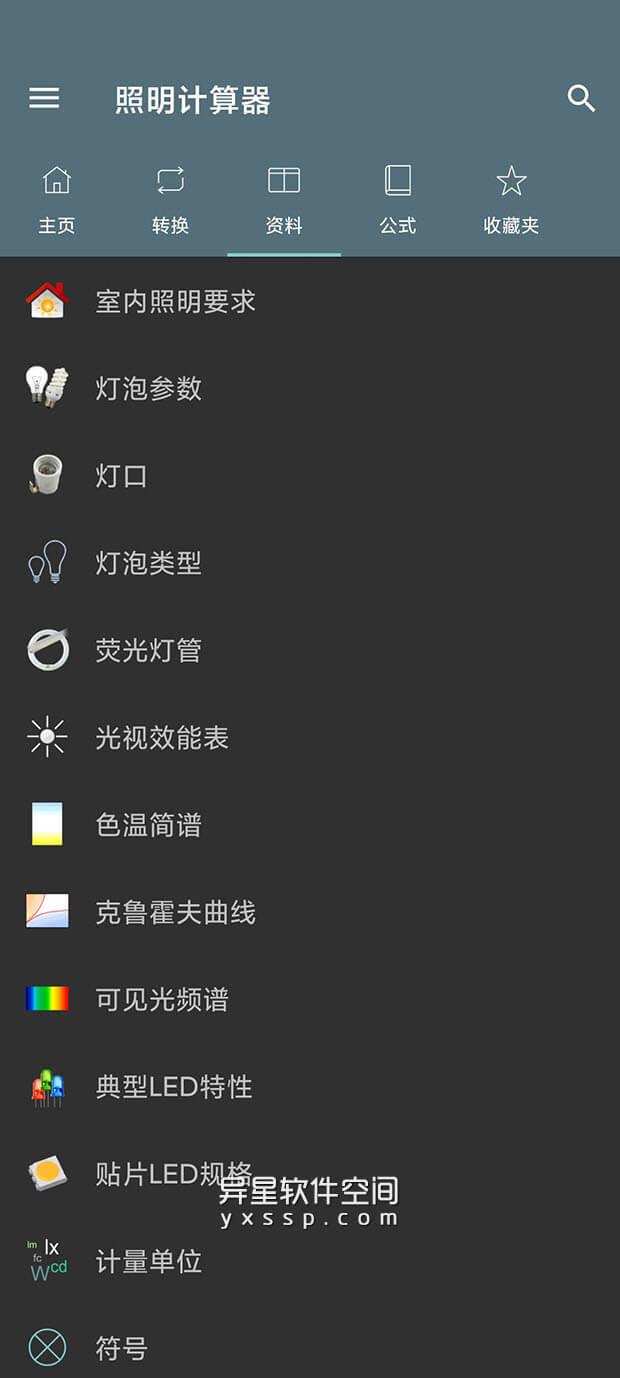 Lightning Calculations Pro「照明计算器」 v4.5.4 for Android 解锁专业版 —— 专注照明领域,有关照明的所有计算都在这里了!-计算器, 照明计算器, 照明, 流明, Lightning, Calculations